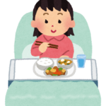 入院中の食事ってどうなの?病院食の献立て日記。
