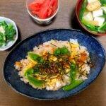 お昼ごはんのマンネリ化と夕食は市販のちらし寿司でカンタンに